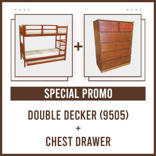 [PROMO] Double Decker 9505 + Chest Drawer