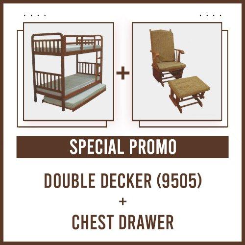 [PROMO] Double Decker 9170 + Rocking Chair