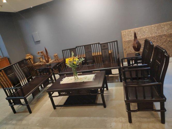 Sofa Sono Besar 3+2+1+1 + Meja